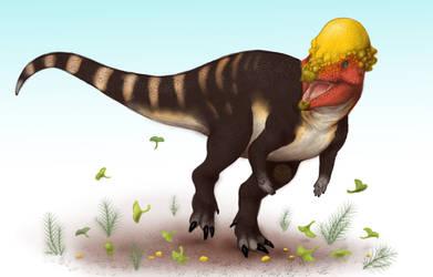 Pachycephalosaurus by BangBooDoragon