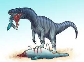 Megalosaurus by BangBooDoragon