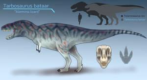 Tarbosaurus bataar by BangBooDoragon
