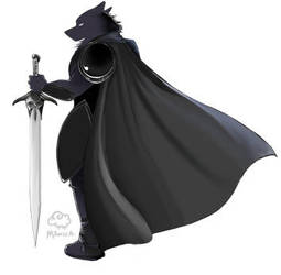 Dark Knight Shadow by MonikaxD