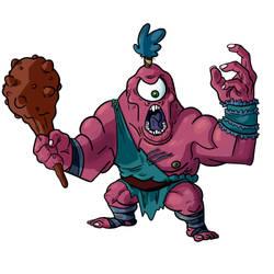 Cyclops needs you off his land by GarlicHERO