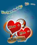 Special Friendship Valentine-s Card by marthig