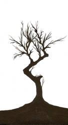 dead tree by DameNiSuru