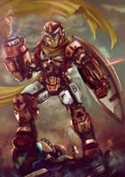 Mega Man Classic Collab - ProtoMan by jorcerca