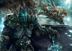 Lich King (Arthas) by jorcerca