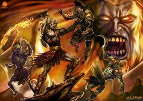 God of War by jorcerca