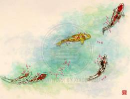 Koi Within by xiaobaosg