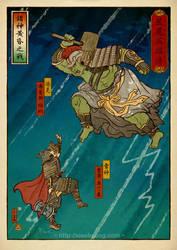 Battle of Ragnarok by xiaobaosg