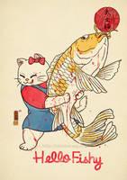 Hello Fishy by xiaobaosg