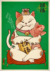 Purry Luck by xiaobaosg
