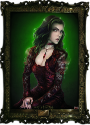 Lady in Red from Game Ib by AliceYuric