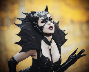 Gothic Catwomen - [COSPLAY] (1) by AliceYuric