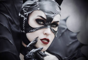 Gothic Catwomen - [COSPLAY] (3) by AliceYuric