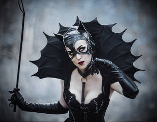 Gothic Catwomen - [COSPLAY] (7) by AliceYuric