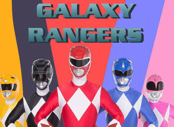 Galaxy Rangers fan made poster  by cam-and-sister-paint