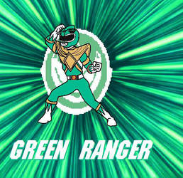 Green Ranger Tommy by cam-and-sister-paint