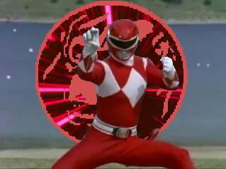 red ape ninja zord power up! by cam-and-sister-paint