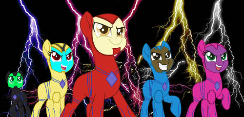 Power Ponies 2017 by cam-and-sister-paint