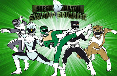 Super Bayou Swamp Brigade (attempt 2) by cam-and-sister-paint