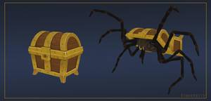 Giant Mimic Spider by Kingerbits