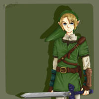 Link's... Too Sexy for his Tunic... ^^ by Mina-Chan7