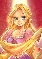 Rapunzel by Umintsu