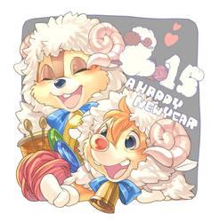 A happy new year 2015 by Umintsu