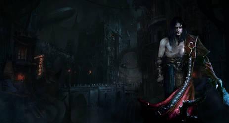 Castlevania: Lords of Shadow 2  Future city by RenRenLotus