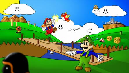 Super Mario Bros1 Showcase by debeerguy007