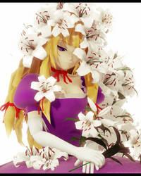 purple by Fujiwara-no-Moko