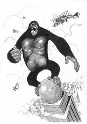Kong by alanrobinson