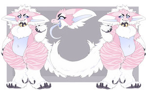 CAKE (REDESIGNED REF!) by Honey-Beest
