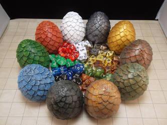 'True Dragon' Egg Die Boxes by Scorpion-Strike