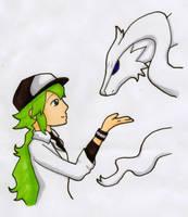 N and the Vast White Pokemon by myosotis22