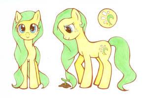 Pony OC - Chamomile Blossom by myosotis22