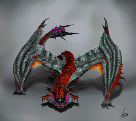 MH Crossbreed: Giggolos by deKora01