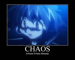 Chaos mot by MindlessGonzo