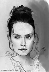 Daisy Ridley by Euqoraz