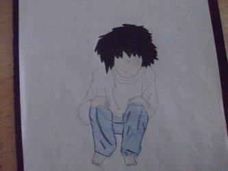 L from Death Note by Keira-Lawliet
