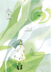 Green by wantou