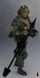 [Titanfall] M-COR Piloto File by IamFile