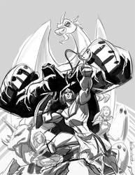 Sketch:: Herculoids by KharyRandolph