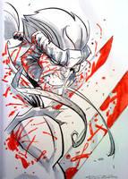 Con Sketch::10.19.09 by KharyRandolph