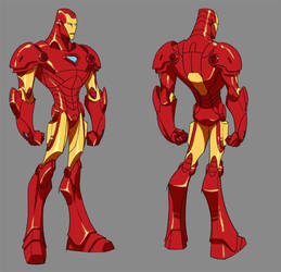 Marvel Minis::Ironman by KharyRandolph