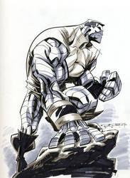 Sketch::Colossus by KharyRandolph