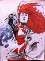 Sketch::Jean Grey by KharyRandolph