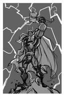 Sketch::Thor by KharyRandolph