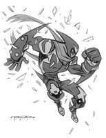 Sketch::Sharknife by KharyRandolph