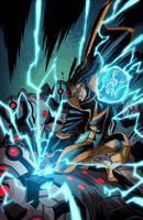 Static Shock 7::Cover by KharyRandolph