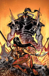 Valen The Outcast 5:: Cover by KharyRandolph